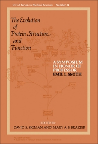 The Evolution of Protein Structure and Function - 1st Edition - ISBN: 9780126431506, 9781483262819