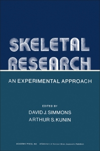 Skeletal Research: An Experimental Approach - 1st Edition - ISBN: 9780126441505, 9780323141598