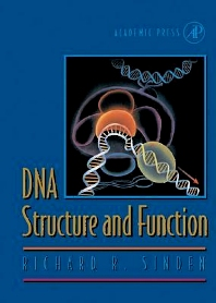 DNA Structure and Function, 1st Edition,Richard Sinden,ISBN9780126457506