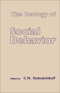 Cover image for The Ecology of Social Behavior