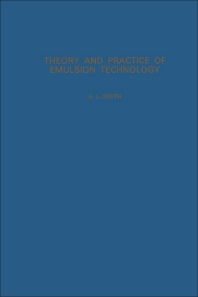 Cover image for Theory and Practice of Emulsion Technology