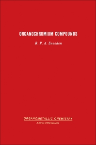 Organochromium compounds - 1st Edition - ISBN: 9780126538502, 9780323155373