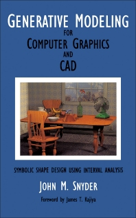 Cover image for Generative Modeling for Computer Graphics and Cad