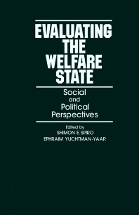 Evaluating the Welfare State - 1st Edition - ISBN: 9780126579802, 9781483258003