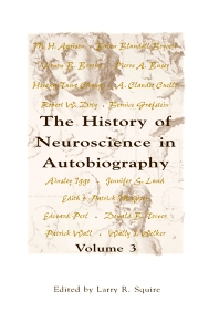 The History of Neuroscience in Autobiography - 1st Edition - ISBN: 9780126603057