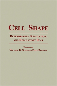 Cell Shape - 1st Edition - ISBN: 9780126646559, 9780323149990