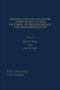 Molecular And Cellular Approaches To The Control Of Proliferation And Differentiation - 1st Edition - ISBN: 9780126647457, 9780323150286