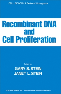 Recombinant DNA And Cell Proliferation - 1st Edition - ISBN: 9780126650808, 9780323153362