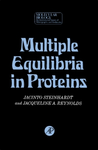 Multiple Equilibria in Proteins - 1st Edition - ISBN: 9780126654509, 9781483220307