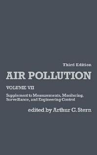 Air Pollution, 3rd Edition,Arthur Stern,ISBN9780126666076