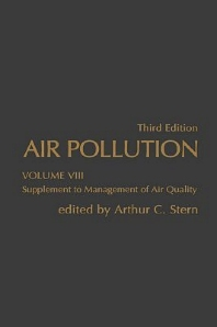 Air Pollution, 3rd Edition,Arthur Stern,ISBN9780126666083