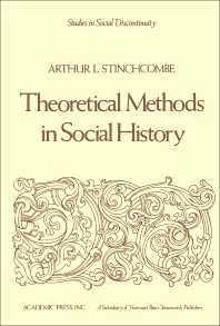 Theoretical Methods in Social History - 1st Edition - ISBN: 9780126722505, 9781483264851