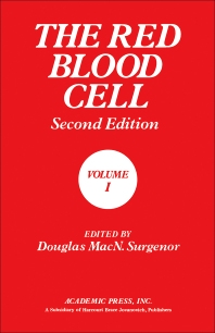 The Red Blood Cell - 2nd Edition - ISBN: 9780126772012, 9780323161480