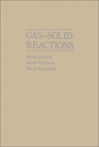 Gas-Solid Reactions - 1st Edition - ISBN: 9780126808506, 9780323151399