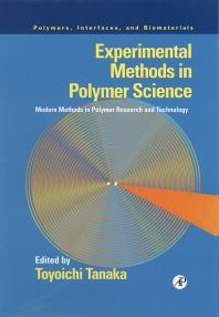 Experimental Methods in Polymer Science, 1st Edition,Toyoichi Tanaka,ISBN9780126832655