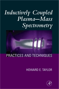 Cover image for Inductively Coupled Plasma-Mass Spectrometry