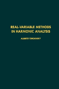 Cover image for Real-variable Methods in Harmonic Analysis