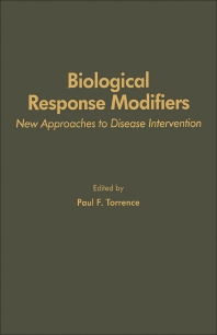 Biological Response Modifiers - 1st Edition - ISBN: 9780126957709, 9780323151382