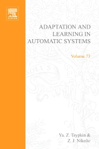 Cover image for Adaptation and Learning in Automatic Systems
