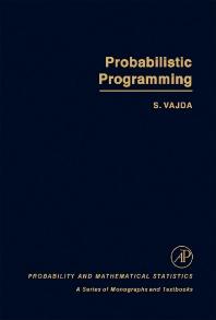 Probabilistic Programming - 1st Edition - ISBN: 9780127101507, 9781483268378