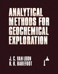 Cover image for Analytical  Methods For Geochemical  Exploration