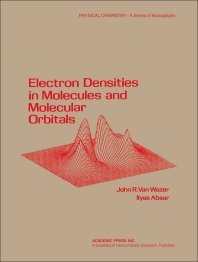 Electron Densities in Molecular and Molecular Orbitals - 1st Edition - ISBN: 9780127145501, 9780323161121