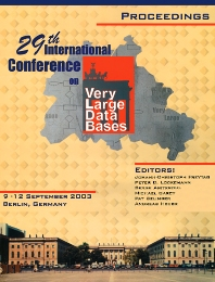 Proceedings 2003 VLDB Conference