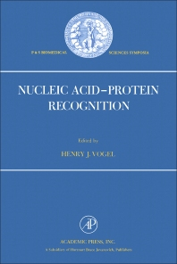 Nucleic Acid–Protein Recognition - 1st Edition - ISBN: 9780127225609, 9780323144537