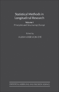 Cover image for Statistical Methods in Longitudinal Research