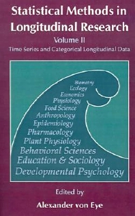 Statistical Methods in Longitudinal Research, 1st Edition,Alexander von Eye,ISBN9780127249636