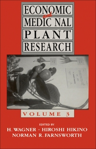 Economic and Medicinal Plant Research - 3rd Edition - ISBN: 9780127300641, 9780080984315