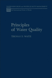 Principles of Water Quality - 1st Edition - ISBN: 9780127308609, 9780323156899