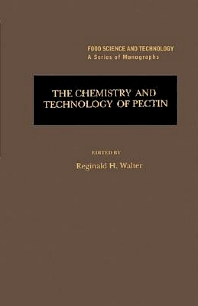 The Chemistry and Technology of Pectin, 1st Edition,Reginald Walter,Steve Taylor,ISBN9780127338705