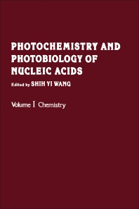 Photochemistry and Photobiology of Nucleic Acids - 1st Edition - ISBN: 9780127346014, 9780323141697