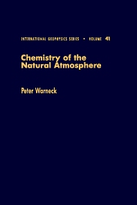 Cover image for Chemistry of the Natural Atmosphere