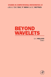 Beyond Wavelets - 1st Edition - ISBN: 9780124113060, 9780080527802