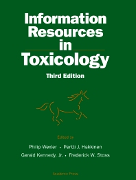 Information Resources in Toxicology - 3rd Edition - ISBN: 9780127447704, 9780080534664