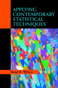 Applying Contemporary Statistical Techniques - 1st Edition - ISBN: 9780127515410, 9780080527512