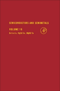 Semiconductors and Semimetals - 1st Edition - ISBN: 9780127521169, 9780080864068