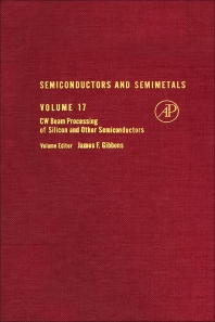 Cover image for Semiconductors and Semimetals