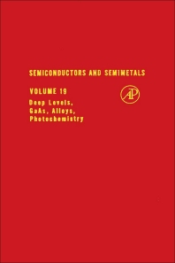 Semiconductors and Semimetals - 1st Edition - ISBN: 9780127521190, 9780080864099