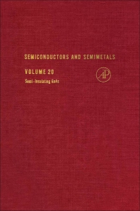 Semiconductors and Semimetals - 1st Edition - ISBN: 9780127521206, 9780080864105