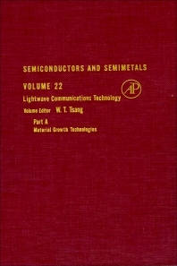 Semiconductors and Semimetals - 1st Edition - ISBN: 9780127521220, 9780080864150