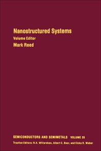 Cover image for Nanostructured Systems