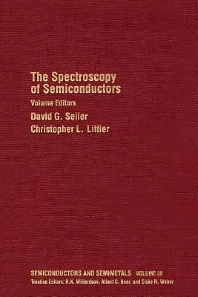 Cover image for The Spectroscopy of Semiconductors