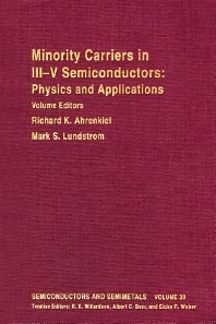 Semiconductors and Semimetals - 1st Edition - ISBN: 9780127521398, 9780080864365