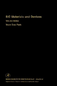 SiC Materials and Devices, 1st Edition,Robert Willardson,Eicke Weber,ISBN9780127521602