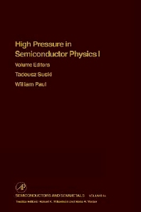 Cover image for High Pressure Semiconductor Physics I