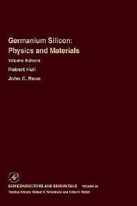 Cover image for Germanium Silicon: Physics and Materials