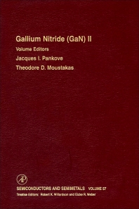 Gallium-Nitride (GaN) II - 1st Edition - ISBN: 9780127521664, 9780080864556